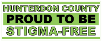 Hunterdon County Proud to be STIGMA-FREE