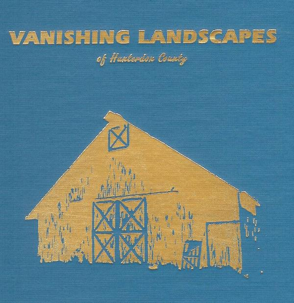 Cover of Vanishing Landscapes of Hunterdon County