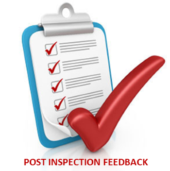 Post Inspection Feedback Form