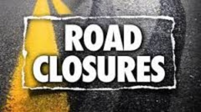 report road closures
