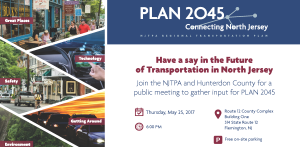 PLAN 2045 - Planning for the Future - Connecting North Jersey