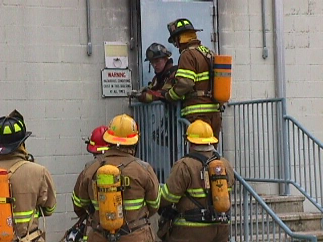 Firefighter 1 Forcible Entry & Fire Progression: