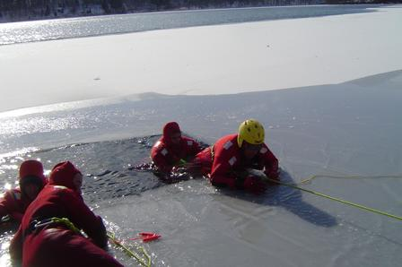 Ice Rescue Operations: