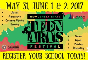 NJ Tean Arts Festival - May 31 to June 2, 2017