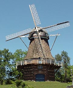 Volendam Windmill in Holland Township