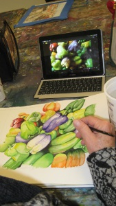 Thursday Afternoon Art Studio for Adults with Lena Shiffman