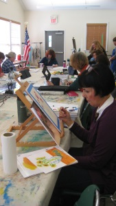 Thursday Morning Art Studio for Adults with Lena Shiffman