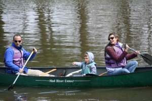 Earth Day Canoeing