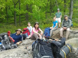 Backpacking Trip to PA Seciton 5