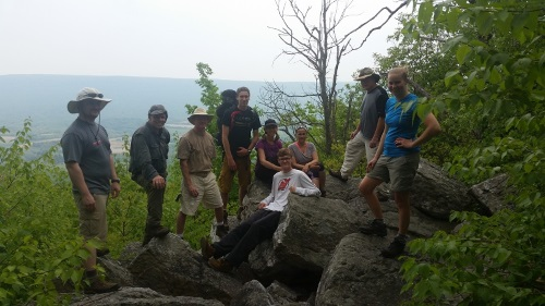Backpacking Trip to PA Seciton 6
