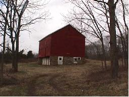 Bank Barn at the Schick Reserve