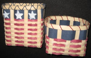 Flag Baskets