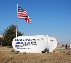 US Naval Air Base in Lakehurst