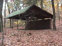 Camp Buck at Pine Hill Section of the South Branch Reservation