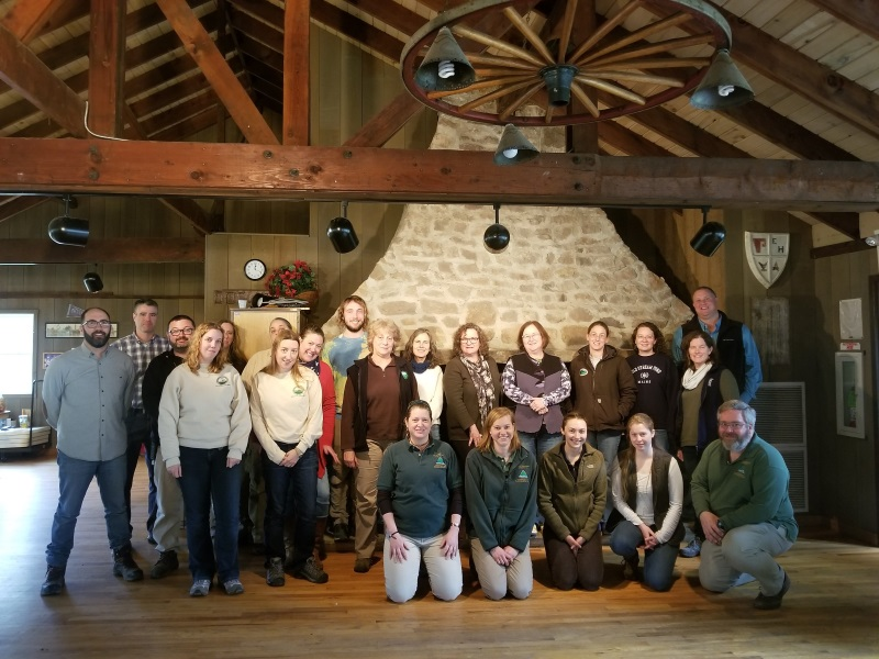 Hunterdon County Parks Division Park Naturalist Round Table Meeting
