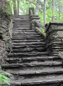 Stairs by instructor Jim Rimi