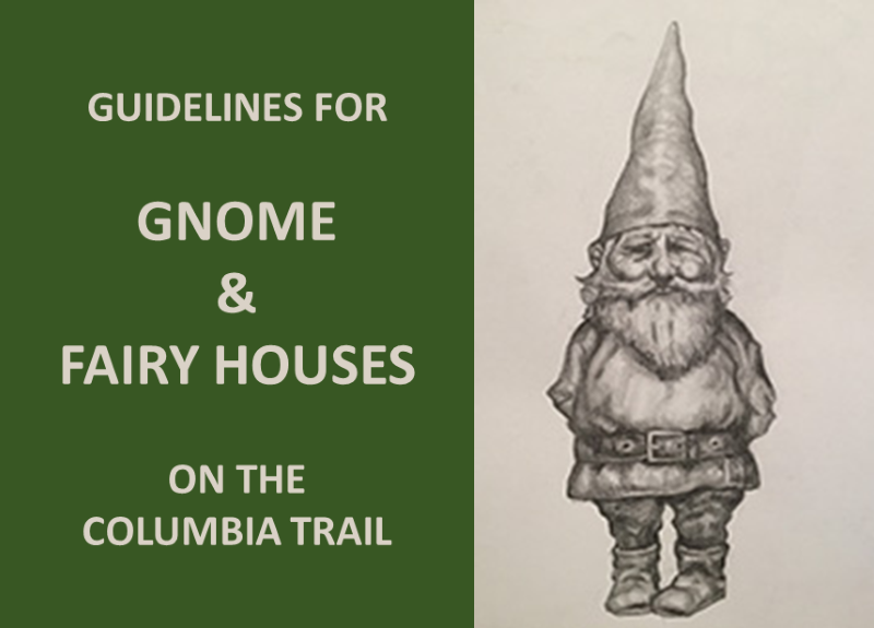 Guidelines for Gnome and Fairy Houses on he Colubmial Trail