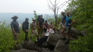 Appalacian Trail Overlook - Backpacking Camping Trip