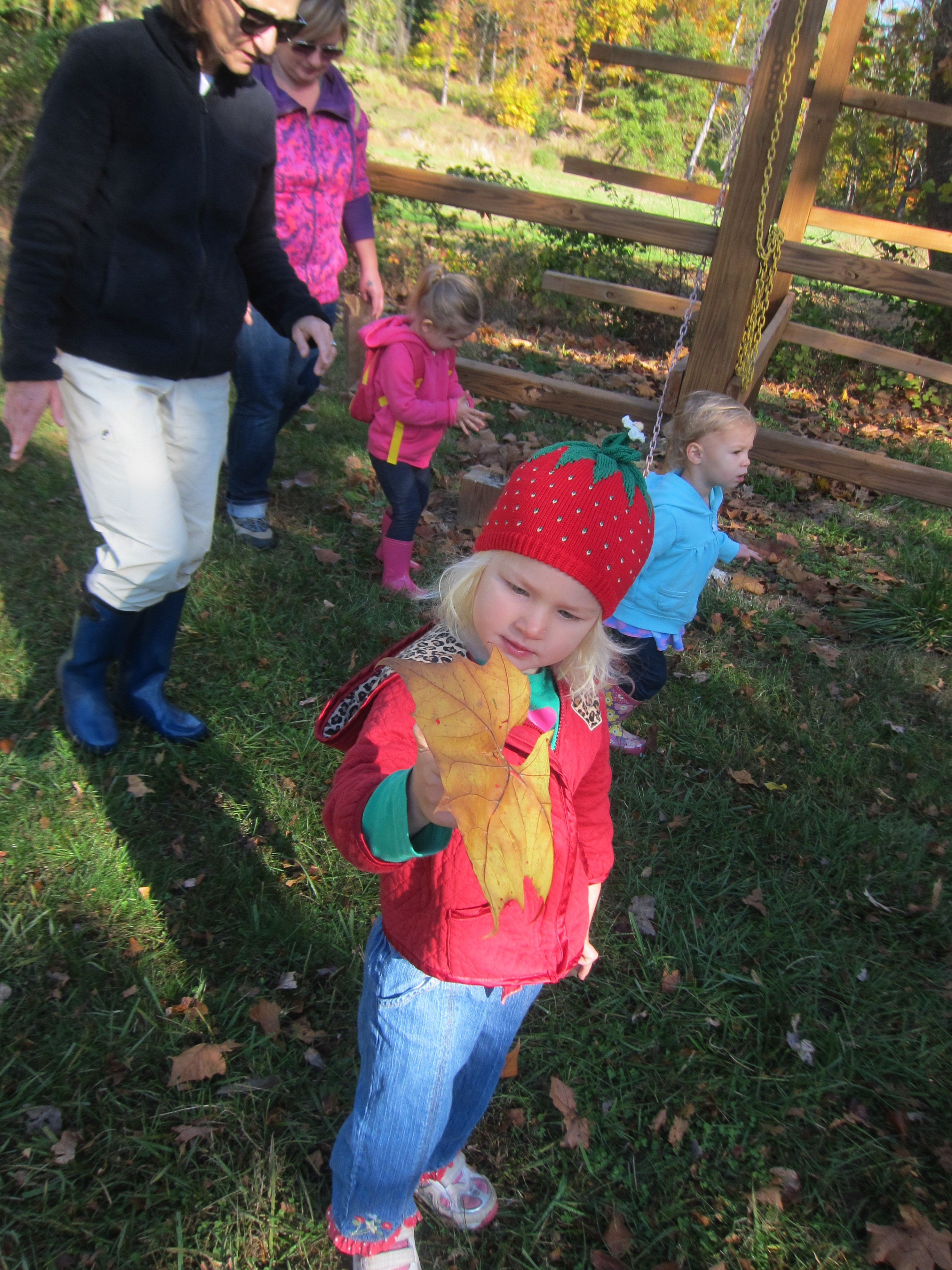 Tot Walks @ Echo Hill