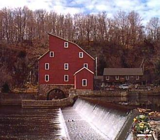 Clinton Town Historic Red Mill
