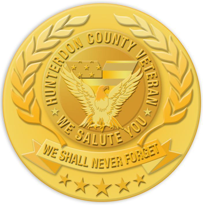 Hunterdon County Veterans Medal